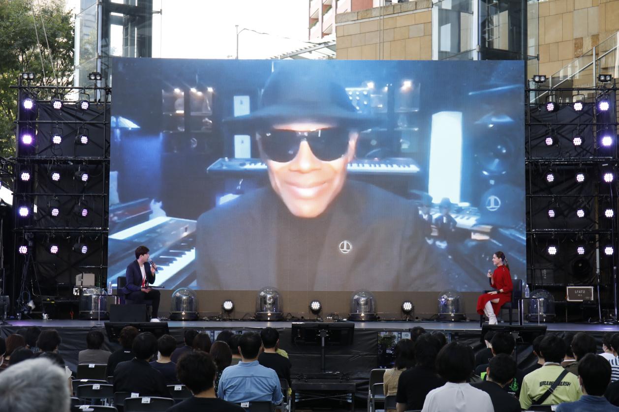 Jimmy Jam & Terry Lewis Special Talk Session ~音楽が超える境界線~ 写真=アンザイミキ