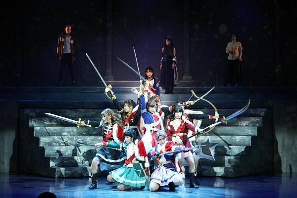 『少女☆歌劇 レヴュースタァライト -The LIVE-#2 Transition』(C)Project Revue Starlight