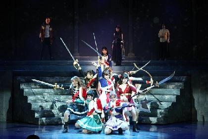 『少女☆歌劇 レヴュースタァライト -The LIVE-#2 Transition』が開幕 コメントと写真が到着