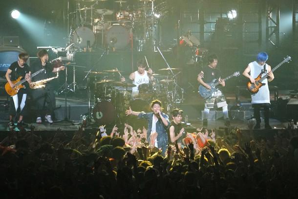 「UVERworld 男祭りHISTORY」ビジュアル