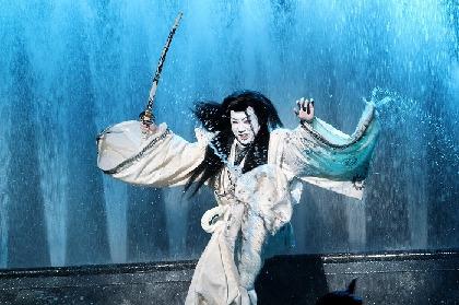 本水使い、左右同時宙乗り、大スペクタクルの超大作活劇 スーパー歌舞伎Ⅱ『新版 オグリ』いよいよ開幕