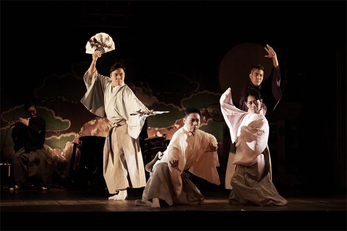 「中村壱太郎×尾上右近 ART歌舞伎」 ~ 一幕「四神降臨」