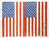 ジャスパー・ジョーンズ 《旗 I》1973年 シルクスクリーン、紙 高松市美術館蔵