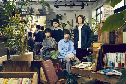 sumika、約9ヶ月ぶりの最新作『Fiction e.p』を4月にリリース