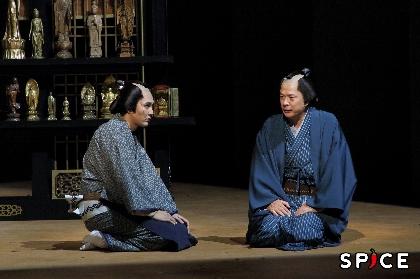 田中哲司、松田龍平、長塚圭史らのコメント&舞台写真が到着 舞台『近松心中物語』が開幕