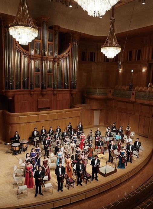 もう一つの定期演奏会「いずみホール定期演奏会」は、昼と夜の1日2回公演 (C)飯島隆
