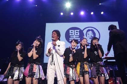 松崎しげる主催『黒フェス』中川翔子、May.J、奥田民生、ももクロら豪華9組が熱演