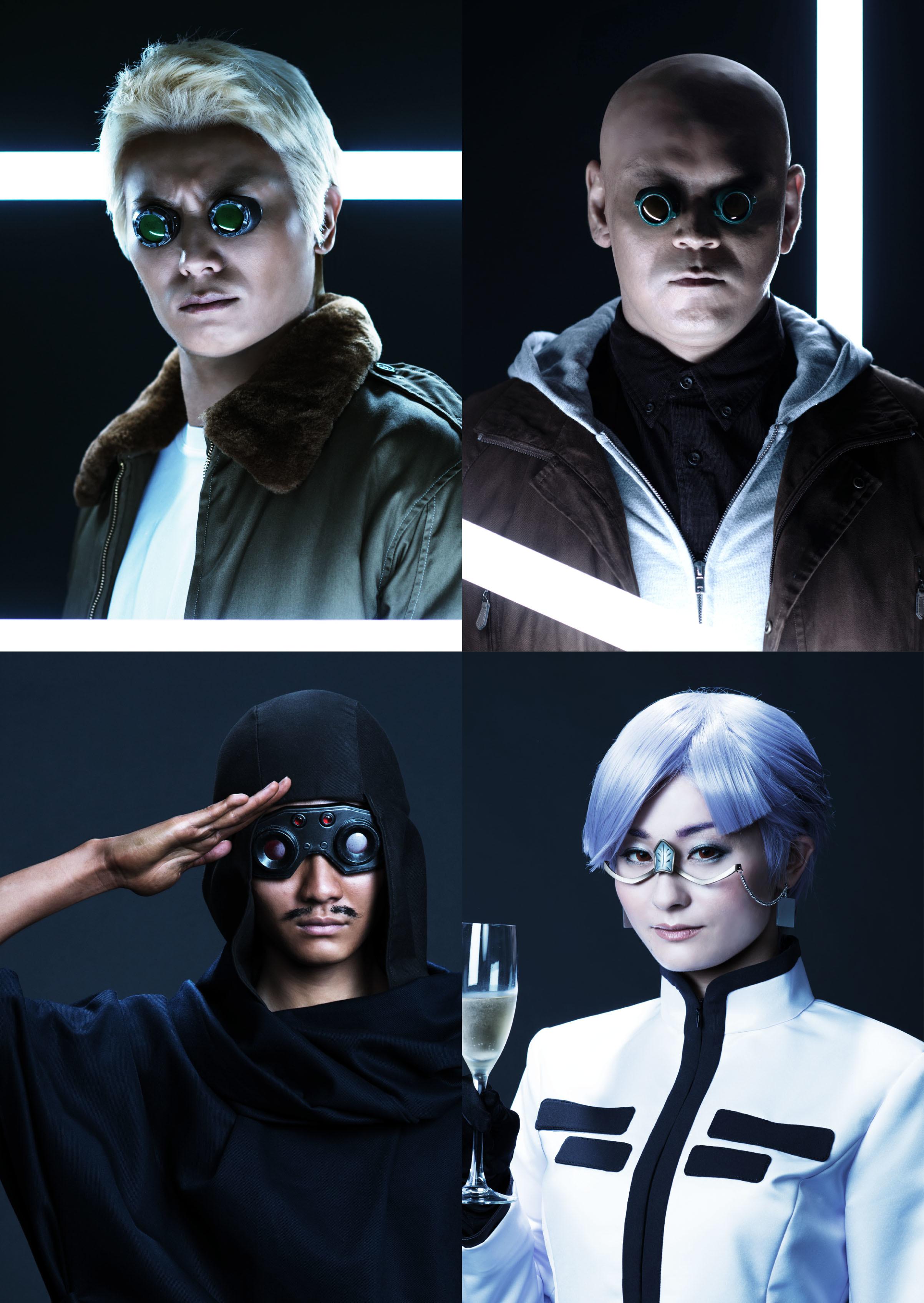 全キャラ発表!「攻殻機動隊ARISE:GHOST is ALIVE」  ©士郎正宗・Production I.G/講談社・「攻殻機動隊ARISE」製作委員会