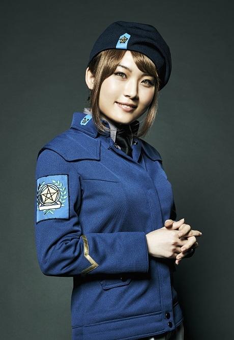 フレデリカ・グリーンヒル役 福永マリカ (C)田中芳樹/松竹・Production I.G