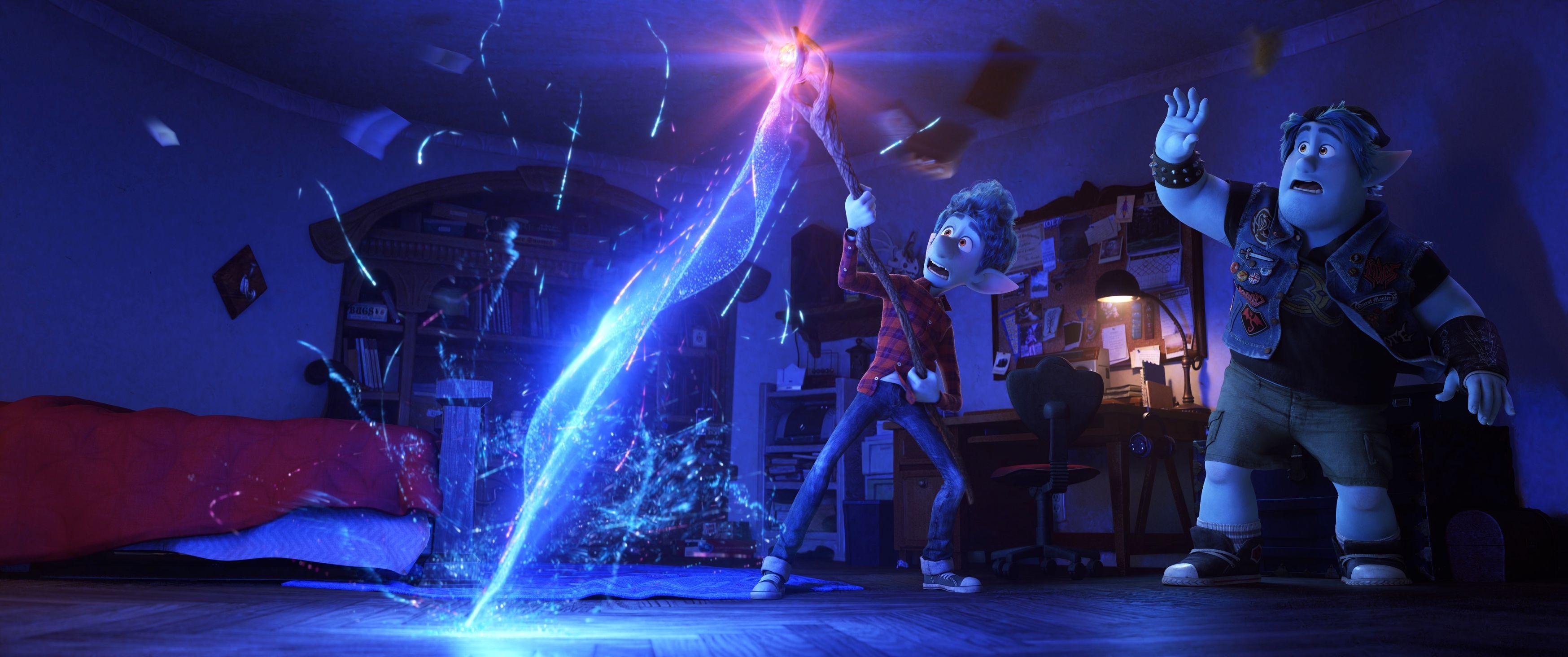 『2分の1の魔法』 (C)2019 Disney/Pixar. All Rights Reserved.