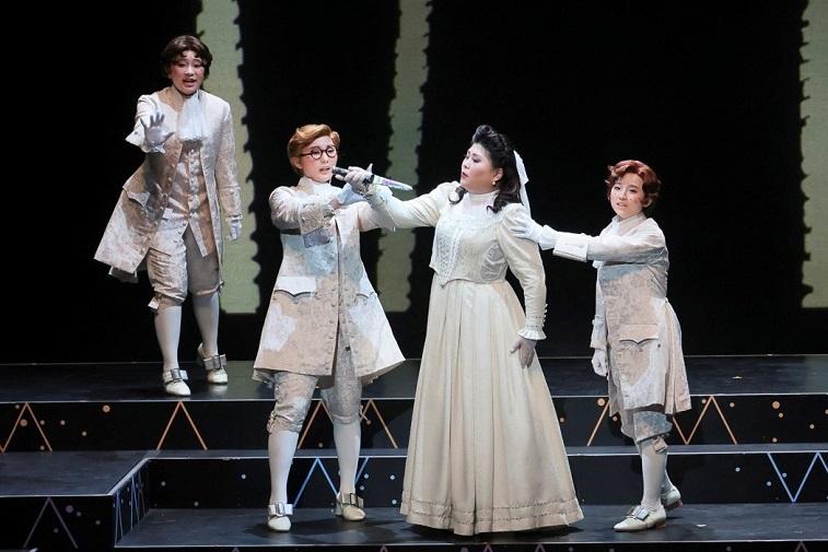 オペラへの招待 歌劇「魔笛」 船越亜弥(パミーナ)と3人の童子