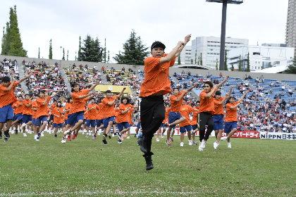 """""""東北の子どもたちに、元気や夢を届けたい"""" 宮城と東京の子供たち300名がLDHメンバーと一緒に「Rising Sun」"""