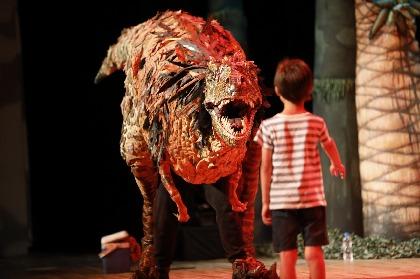 体験型リアル恐竜ショー『恐竜どうぶつ園 2019』日本ツアーに日本生息の肉食恐竜・フクイラプトルが新登場