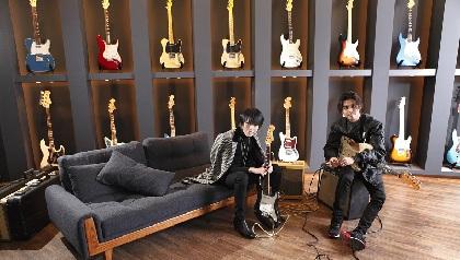 圭(BAROQUE)×DURAN リスペクトし合う二人がツーマンライブ目前にトークとギターでセッション