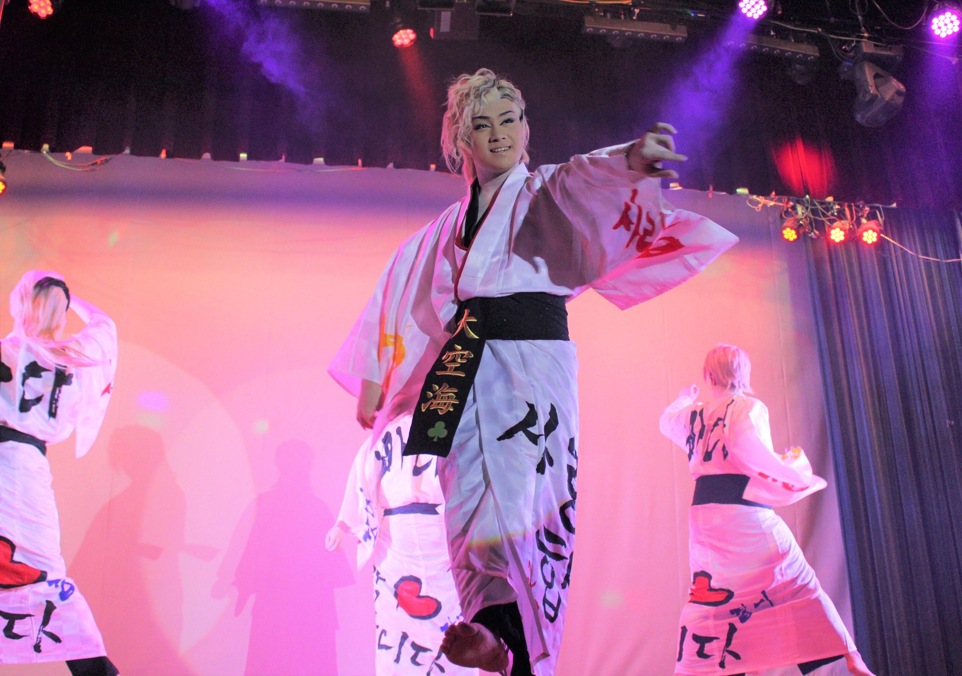 ダンスのメインは18歳の浅井大空海(たくみ) かっこカワイイとK-POPファンにも人気!