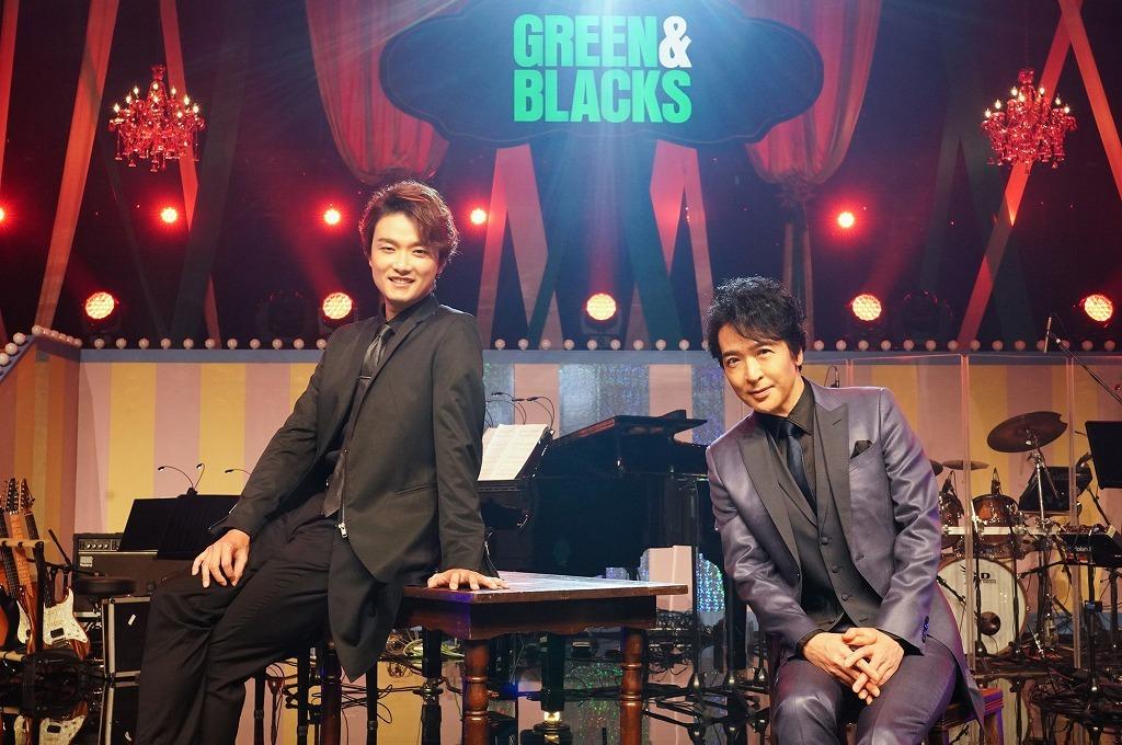 (左から)井上芳雄、石川禅
