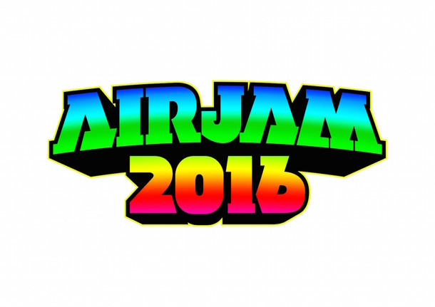 「AIR JAM 2016」ロゴ