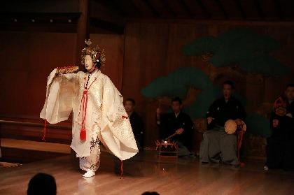 能公演『春青能・半蔀(はじとみ)』、京都・冬青庵能舞台の公演をインターネットでライブ配信