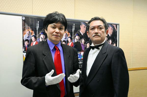 (左から)久保田浩、後藤ひろひと 撮影:吉永美和子(人物すべて)