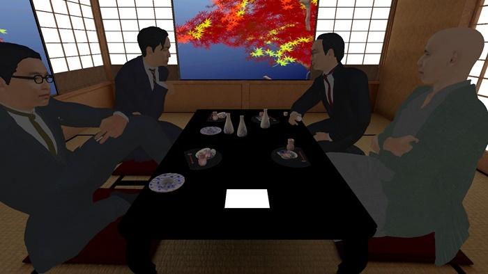 ホー・ツーニェン『ヴォイス・オブ・ヴォイド-虚無の声-(YCAMとのコラボレーション)』VR映像の一部。 Courtesy of Yamaguchi Center for Arts and Media [YCAM]