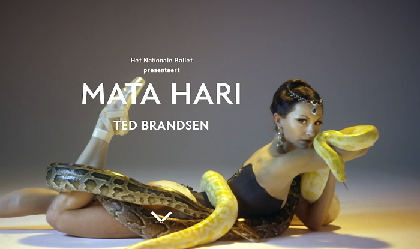 NHKのBS「プレミアムシアター」でオランダ国立バレエの新作公演『マタ・ハリ』を放送