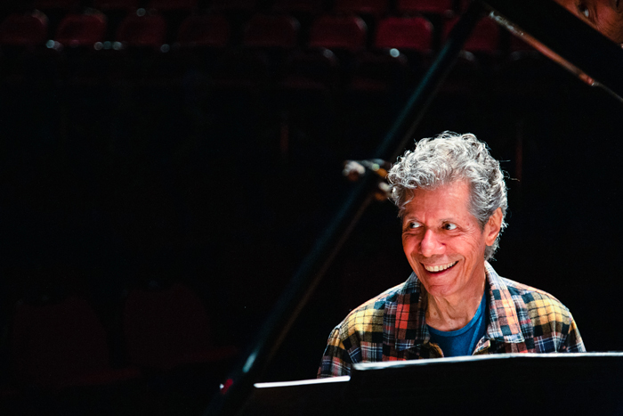 チック・コリア氏 © Jordin Pinkus / Chick Corea Production