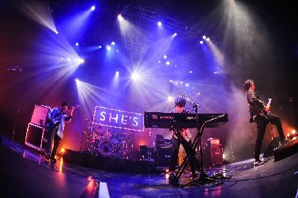SHE'Sのツアーファイナルに観た、ライブバンドとしての成長ぶりとその理由