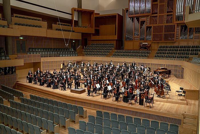 これからも京都市交響楽団をよろしくお願いします! (C)井上写真事務所 井上嘉和