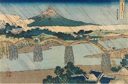 北斎作品から「橋」の文化的側面を探る 『北斎の橋 すみだの橋』展