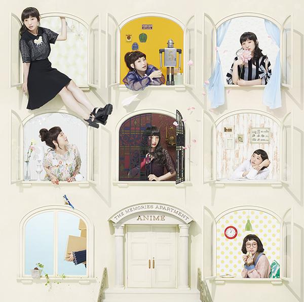 『南條愛乃 ベストアルバム THE MEMORIES APARTMENT-Anime-』通常盤ジャケットデザイン