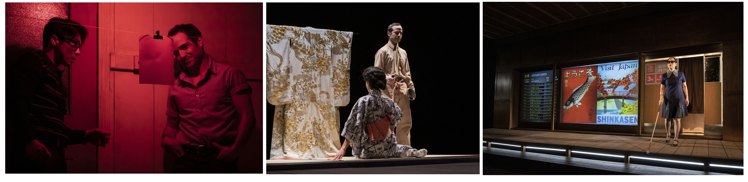 『HIROSHIMA 太田川七つの流れ』2019年9月ケベック公演より  (C)Elias Djemil Matassov