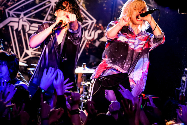 Fear, and Loathing in Las Vegas「Move Ahead Tour 2018 裏ファイナル」兵庫・MUSIC ZOO KOBE 太陽と虎公演の様子。(Photo by Viola Kam[V'z Twinkle])