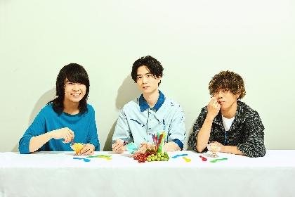 湘南発3ピースバンド・かたこと、2ndミニアルバム『Sherbet』リリース決定