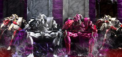 キン肉マン「悪魔将軍」フィギュアの一般予約が開始に 『威厳』『峻厳』の2バージョンが登場