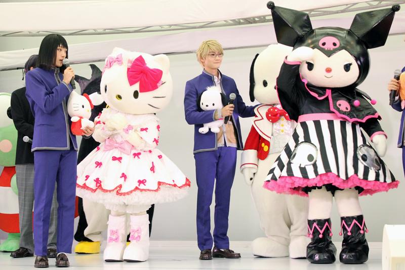 今回登壇できなかった羽倉虎男(北乃颯希)が好きなキャラクター、クロミ
