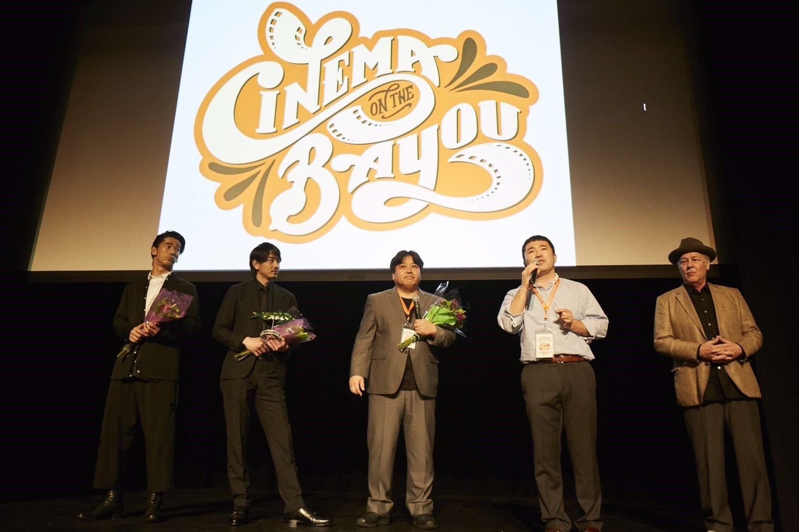 シネマ・オン・ザ・バイユー映画祭『たたら侍』舞台挨拶