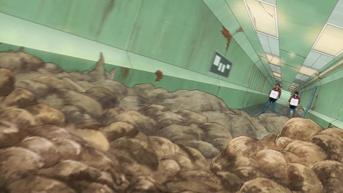 TVアニメ『はたらく細胞BLACK』第一話場面カット  ©原田重光・初嘉屋一生・清水茜/講談社