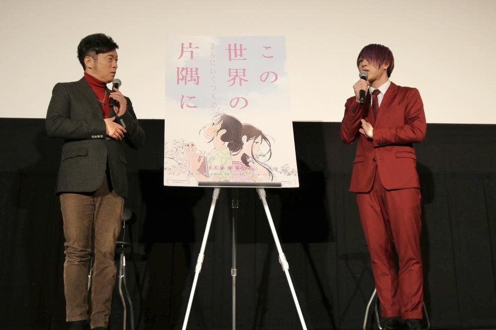 左から、黒沢薫(ゴスペラーズ)、歌広場淳(ゴールデンボンバー)
