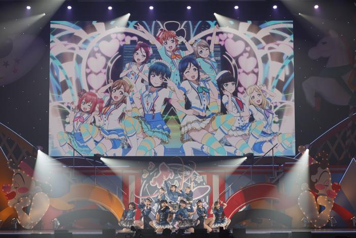 「ラブライブ!サンシャイン!! Aqours ONLINE LoveLive! ~LOST WORLD~」DAY1より (C)プロジェクトラブライブ!サンシャイン!! (C)2017 プロジェクトラブライブ!サンシャイン!!