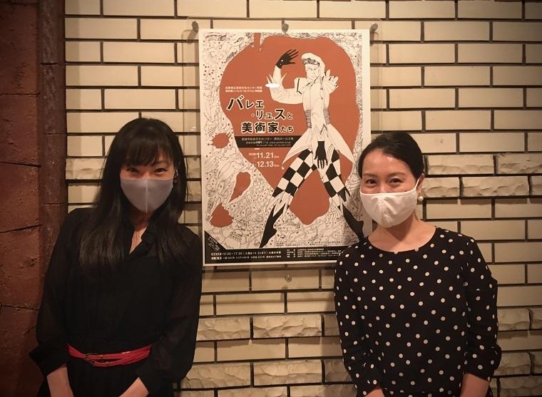 関典子(左)とピアニスト三浦栄里子