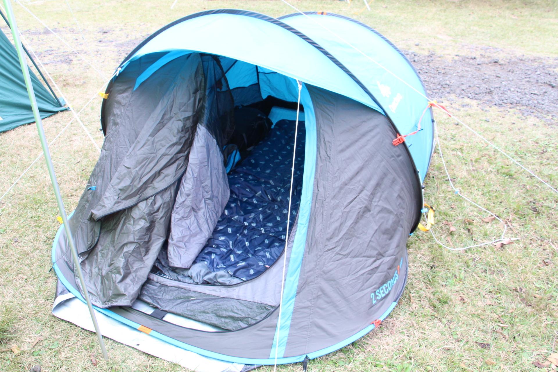 テントの様子