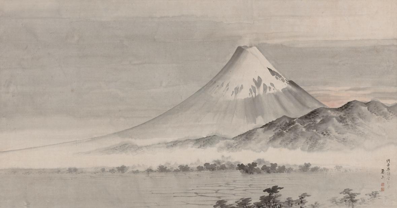 横山華山《富士山図》京都府(京都文化博物館管理)