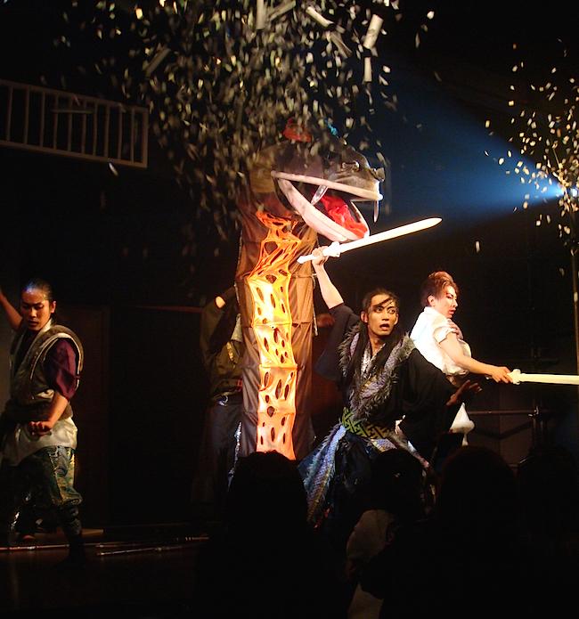 「名古屋山三郎一座」公演より