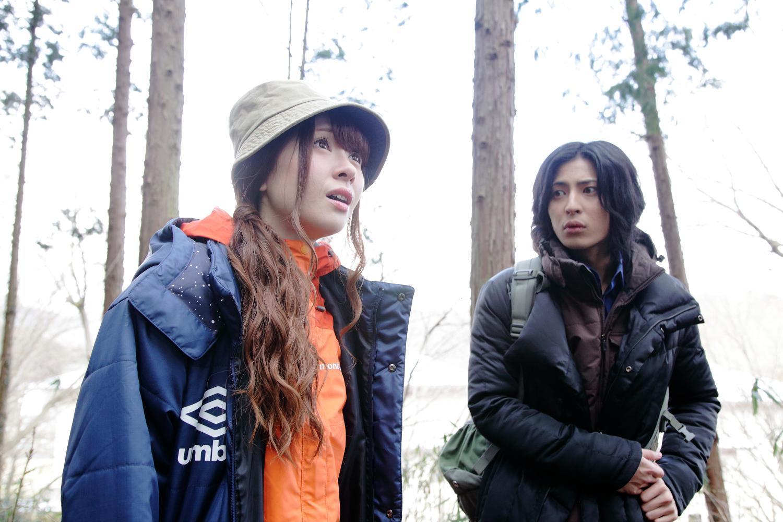 河西美希、斉藤秀翼 ©2016『大怪獣モノ』製作委員会