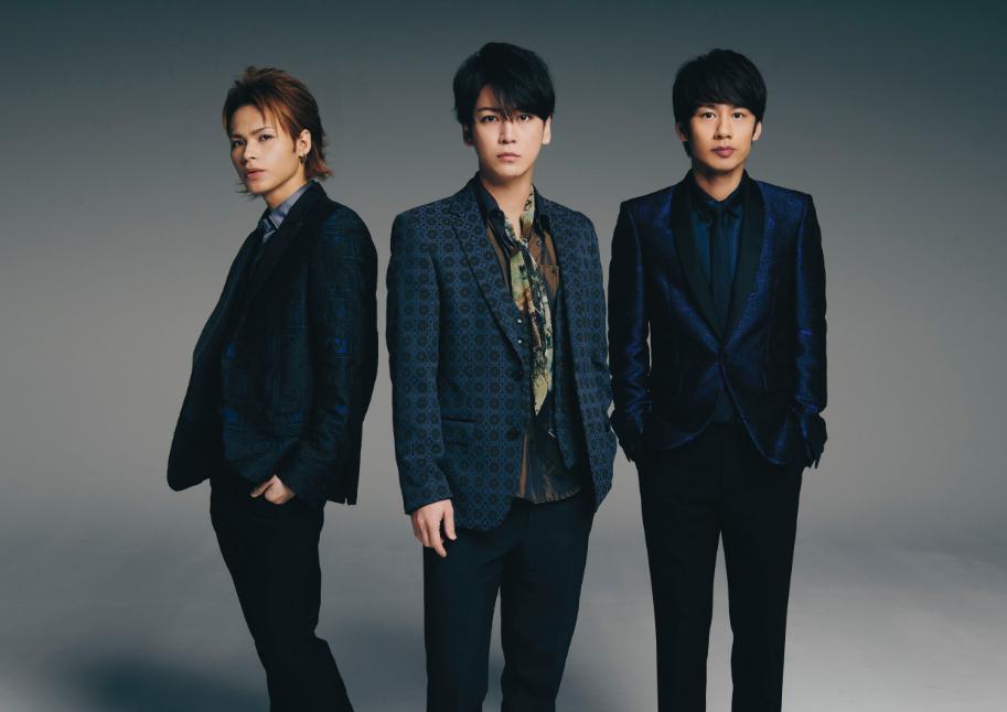 KAT-TUN 左から、上田竜也、亀梨和也、中丸雄一