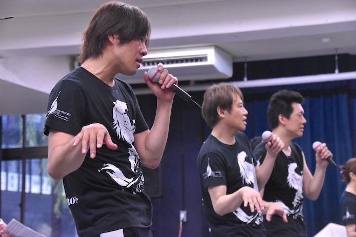 (左から)東山義久、玉野和紀、吉野圭吾