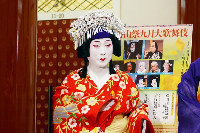 『秀山祭九月大歌舞伎』中村雀右衛門