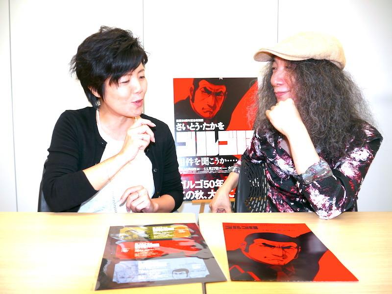 左:豊田美緒(読売新聞 大阪本社 文化事業部)右:山本恭司