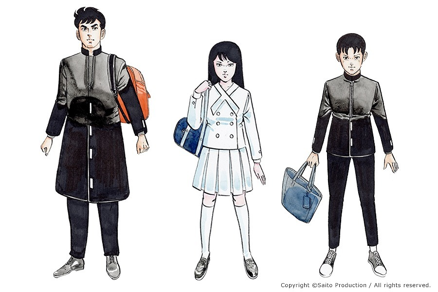(左から)カイ・ミーコ・ソラ  キャラクター