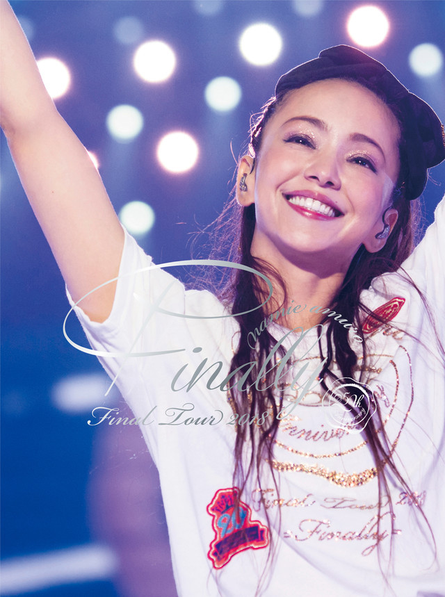 安室奈美恵「namie amuro Final Tour 2018 ~Finally~」東京ドーム公演収録盤ジャケット